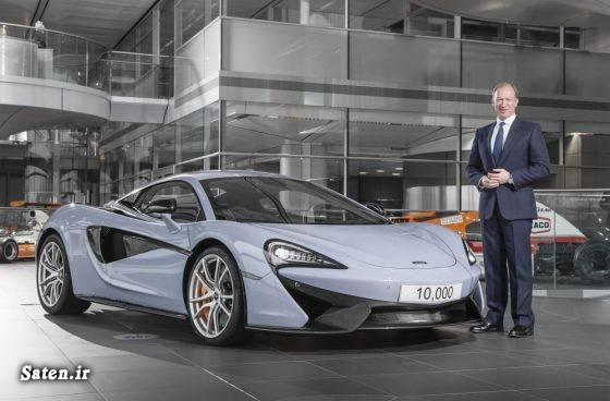 مشخصات مک لارن قیمت مک لارن زیباترین رنگ خودرو McLaren 570S