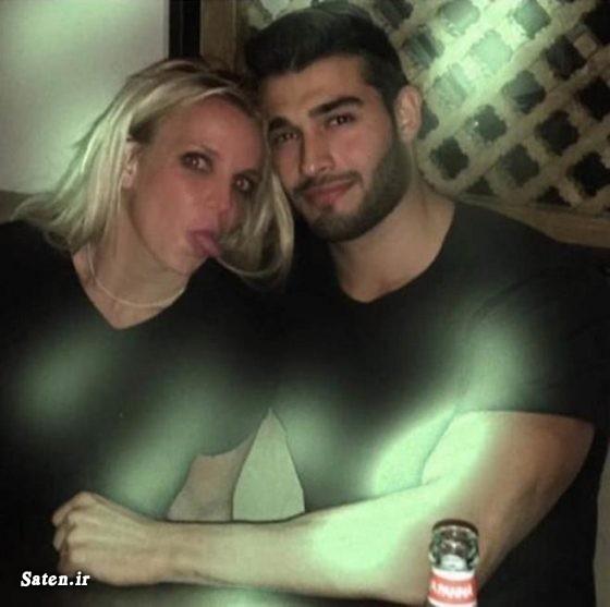همسر سام اصغری همسر بریتنی اسپیرز مدل ایرانی زندگی بازیگران خارجی پسر مدل بیوگرافی سام اصغری بیوگرافی بریتنی اسپیرز اینستاگرام سام اصغری Sam Asghari britney spears