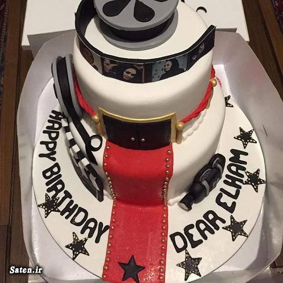 عکس زیبا الهام حمیدی عکس تزیین کیک تولد جشن تولد بازیگران بیوگرافی الهام حمیدی اینستاگرام الهام حمیدی