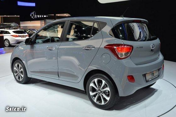 مشخصات هیوندا آی i10 قیمت هیوندا آی i10 قیمت محصولات هیوندایی قیمت محصولات کرمان خودرو hyundai i10 price