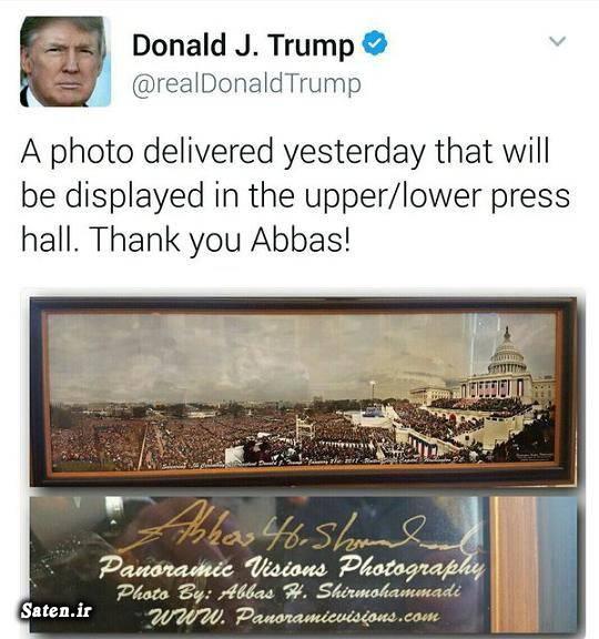 توئیتر دونالد ترامپ بیوگرافی عباس شیرمحمدی بیوگرافی دونالد ترامپ اینستاگرام دونالد ترامپ ایرانیان آمریکا Abbas Shirmohammadi
