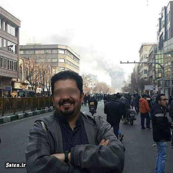 نتیجه تصویری برای عکسهای سلفی در حادثه ساختمان پلاسکو