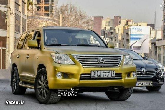 مشخصات لکسوس LX570 قیمت لکسوس LX570 عکس بچه پولدار تهرانی زیباترین رنگ خودرو خودروهای خاص