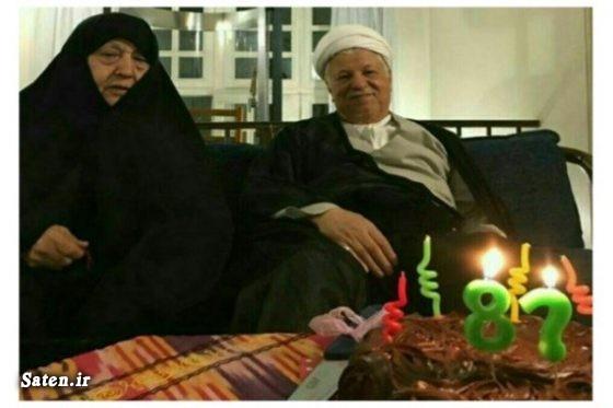 همسر هاشمی رفسنجانی خانواده هاشمی رفسنجانی بیوگرافی هاشمی رفسنجانی بیوگرافی عفت مرعشی
