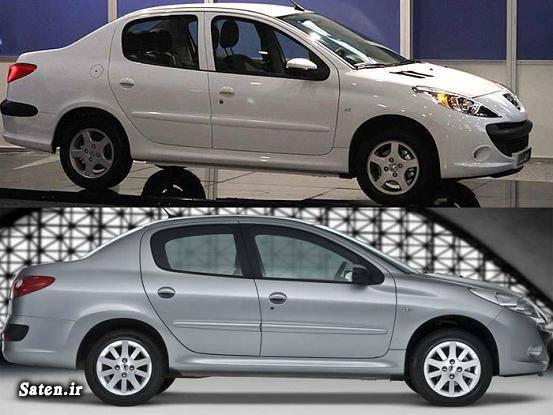 مقایسه خودرو مشخصات پژو 206 sd قیمت و مشخصات پژو 207 صندوقدار قیمت پژو 206 صندوقدار V20 Peugeot 207