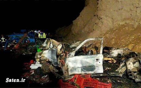 عکس تصادف مرگبار عکس تصادف دلخراش حوادث یزد حوادث واقعی افغانی در ایران