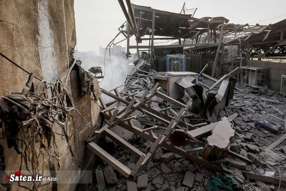 عکس تهران ساختمان پلاسکو آتش سوزی ساختمان پلاسکو