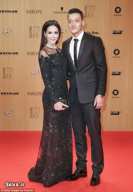 مسعود اوزیل و همسرش درآمد فوتبالیستها خانه فوتبالیستها بیوگرافی مسوت اوزیل Mesut Ozil