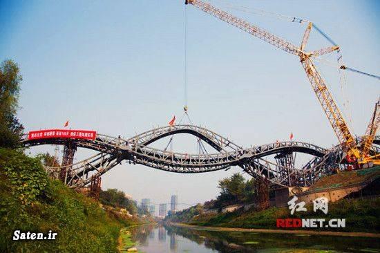 توریستی چین اخبار چین the Lucky Knot bridge