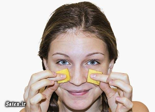 سفید کردن دندان رفع چین و چروک درمان آکنه خواص موز خواص پوست موز چین و چروک پوست گردن