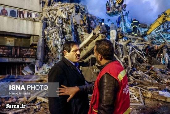 بیوگرافی عباس جدیدی آتش سوزی ساختمان پلاسکو