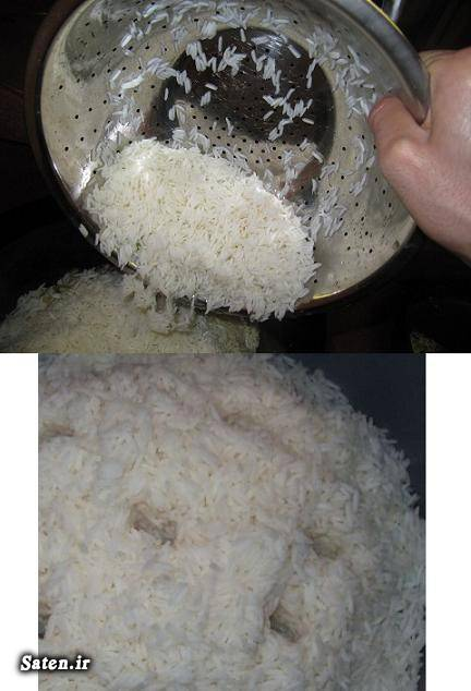 فوت و فن آشپزی طرز تهیه کته طرز تهیه پلو طرز پخت برنج ایرانی طرز پخت برنج آبکش بهترین سایت آشپزی برنج دم پخت آشپزی ساده سریع و آسان