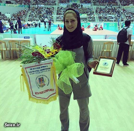 قد مائده برهانی عکس ورزش بانوان دختر والیبالیست ایرانی بیوگرافی مائده برهانی بیوگرافی زینب گیوه Zeinab Giveh