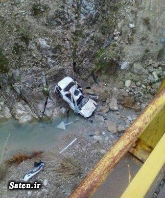 فرزند شهید شیرودی عکس سقوط خودرو عکس تصادف دلخراش حوادث بهبهان اخبار دهدشت