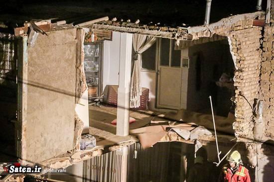 حوادث تهران انفجار ساختمان