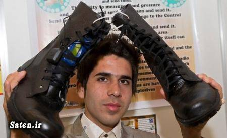 نابغه جهان نابغه ایرانی مهمانان خندوانه مخترعان ایران ماد تکنولوژی لیست اختراعات پیمان سرحدی بیوگرافی پیمان سرحدی اخبار کمیجان