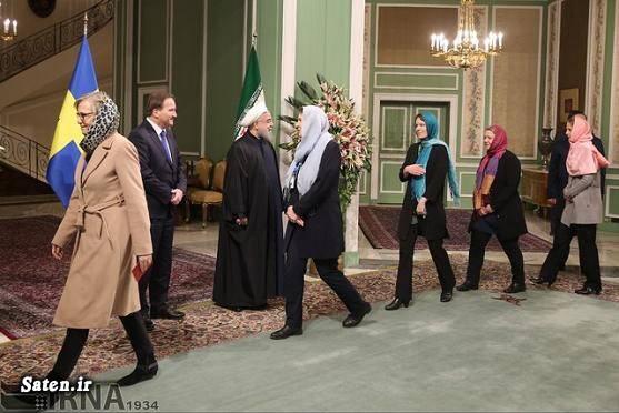 همسر رئیس جمهور دختر سوئدی