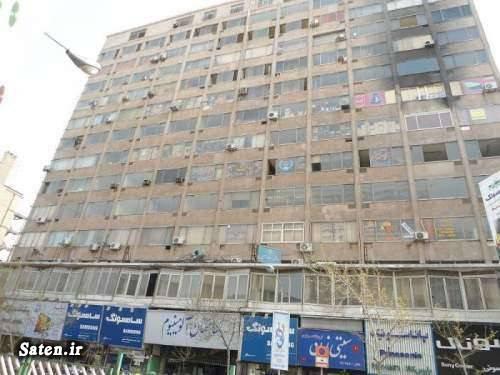 ساختمان پلاسکو ساختمان آلومینیوم اخبار تهران آتش سوزی ساختمان پلاسکو