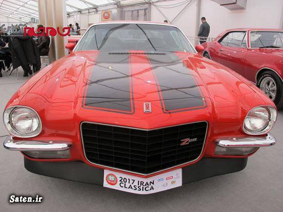 نمایشگاه خودرو تهران شهر آفتاب خودرو کلاسیک خودرو آمریکایی