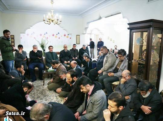 عکس سردار نقدی عکس تشییع جنازه سوابق سردار نقدی خانواده سردار نقدی