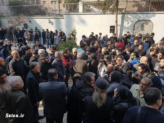 مسجد جامع شهرک غرب علت مرگ بازیگران خانواده علی معلم تشییع علی معلم تشییع جنازه بازیگران بیوگرافی علی معلم