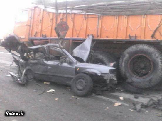 عکس تصادف مرگبار عکس تصادف دلخراش حوادث گلستان تصادف سمند اخبار گنبد کاووس اخبار تصادف