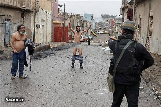 موصل عراق عکس لخت شدن عکس برهنه شدن اخبار عراق اخبار داعش