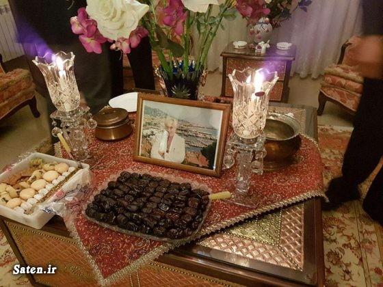 عکس جدید بازیگران خانواده علی معلم بیوگرافی علی معلم بیوگرافی آذر معماریان آذر معماریان همسر علی معلم
