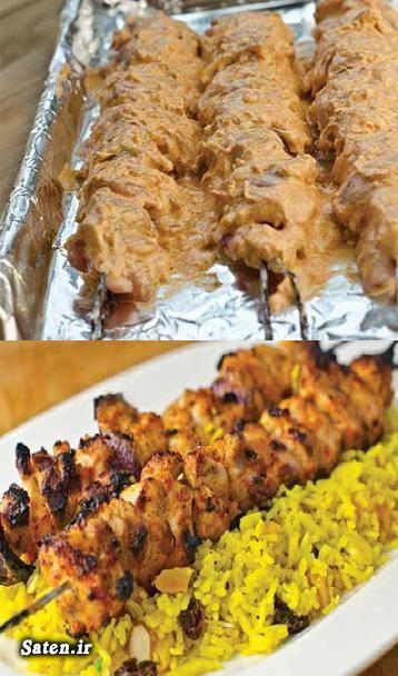 مزه دارکردن جوجه کباب فوت و فن آشپزی سس جوجه کباب جوجه کباب آموزش آشپزی آشپزی ساده سریع و آسان