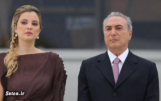 حمله ارواح به رئیس جمهور و همسر جوان و زیبایش! +عکس