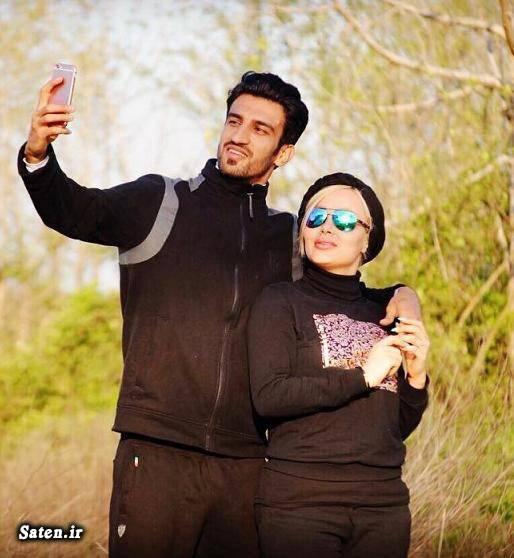 نتیجه تصویری برای حسین ماهینی و همسرش