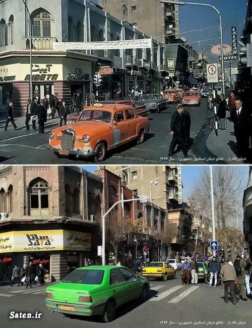 گراند هتل لاله زار عکس قدیمی عکس تهران قدیم عکس تهران خیابان لاله زار تهران