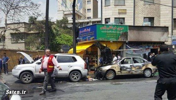 خودرو بازیگران حوادث تهران بیوگرافی امین زندگانی اینستاگرام امین زندگانی آتش سوزی در تهران آتش سوزی خودرو