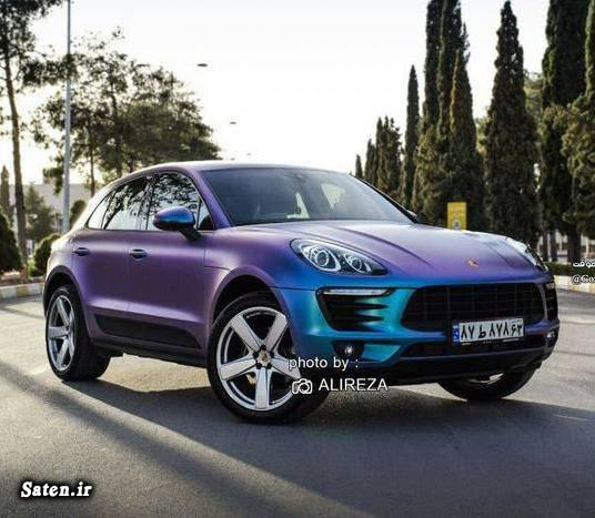 ماشین های لوکس در ایران قیمت پورشه ماکان زیباترین رنگ خودرو انواع رنگ خودرو اخبار شیراز