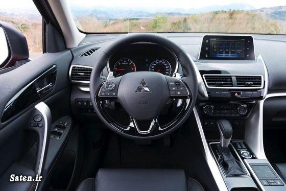 نمایندگی میتسوبیشی مشخصات میتسوبیشی اکلیپس کراس کراس اوورهای موجود در ایران قیمت میتسوبیشی اکلیپس کراس قیمت میتسوبیشی قیمت شاسی بلند شرکت آرین موتور Mitsubishi Eclipse Cross