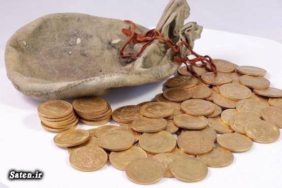قیمت گنج عکس گنج سکه طلا قدیمی پول قدیمی بزرگترین گنج جهان اخبار انگلیس آدرس گنج