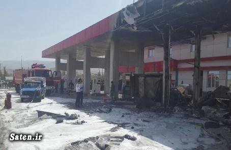 علت انفجار کپسول گاز خودرو حوادث شیراز انفجار پمپ گاز
