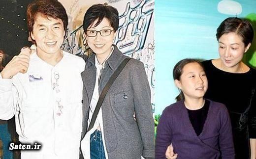 همسر جکی چان فرزندان جکی چان بیوگرافی جکی چان اخبار خودکشی jackie chan
