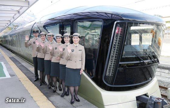 قطار لوکس قطار گردشگری سفر به ژاپن توریستی ژاپن Train Suite Shiki Shima