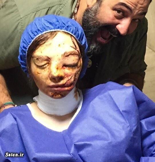همسر رعنا آزادی گریم بازیگران عکس جدید بازیگران بیوگرافی رعنا آزادی بیوگرافی بابک اسکندری