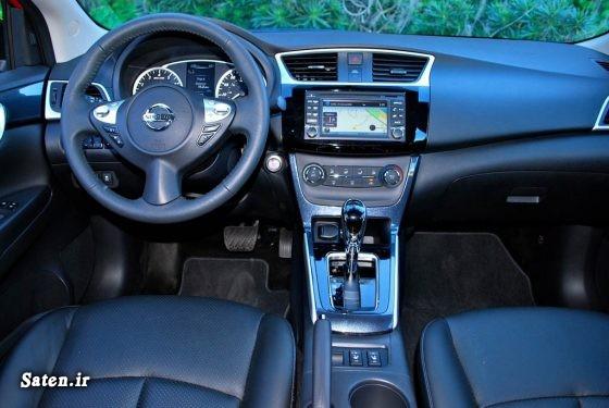 معرفی خودرو مشخصات نیسان سنترا مجله خودرو قیمت نیسان سنترا Nissan Sentra 2017