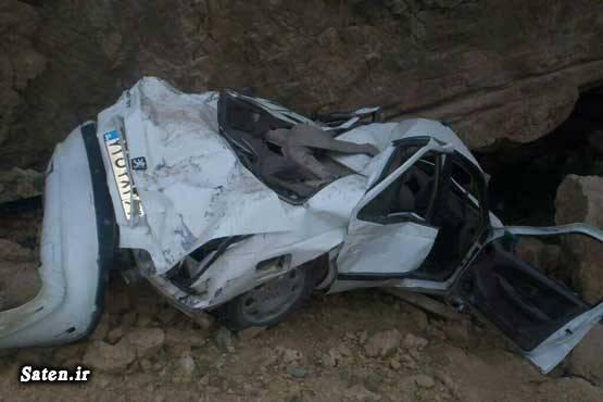 عکس سقوط خودرو عکس پژو پارس سقوط از کوه اخبار تصادف
