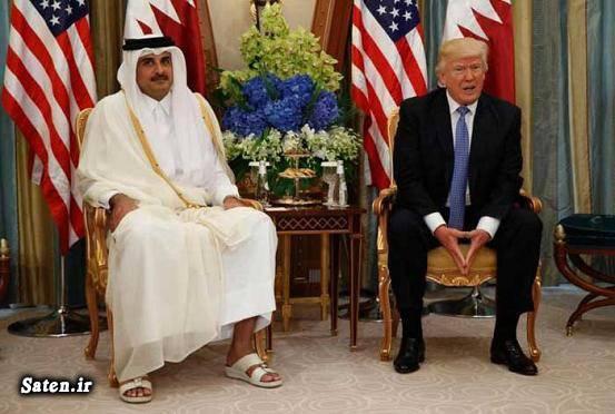 بیوگرافی دونالد ترامپ امیر قطر اخبار قطر اخبار آمریکا