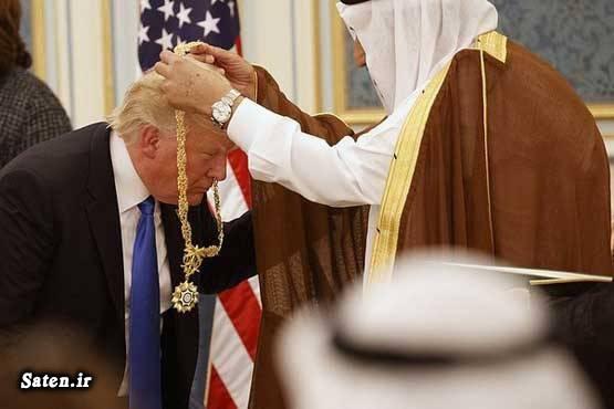 کشتی تفریحی روابط آمریکا و عربستان سعودی پادشاه عربستان بیوگرافی دونالد ترامپ ایران و عربستان اخبار عربستان