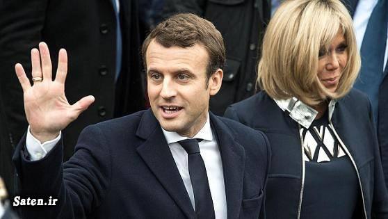 همسر امانوئل مکرون رئیس جمهور فرانسه بیوگرافی امانوئل مکرون اخبار فرانسه Emmanuel Macron