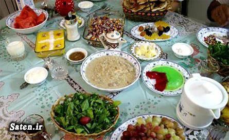 لیست غذاهای مناسب سحری کاهش تشنگی در ماه رمضان روزه گرفتن در هوای گرم روزه گرفتن روزه داری در تابستان درمان رفع تشنگی بهترین غذا افطاری