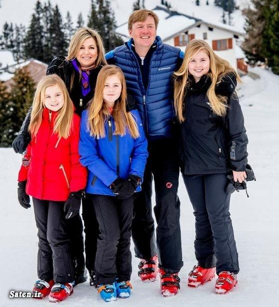 همسر پادشاه هلند همسر پادشاه شاهزاده زیبا شاهزاده خانم اخبار هلند Willem Alexander