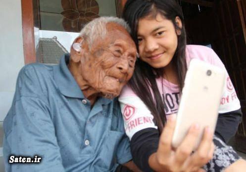 مسن ترین مرد جهان مباح گوتو رکوردهای گینس پیرترین مرد جهان پیرترین انسان جهان در گینس پیرترین انسان پیر ترین فرد دنیا mbah gotho