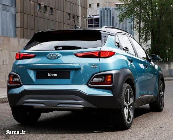 مشخصات هیوندا کنا قیمت هیوندا کنا قیمت محصولات هیوندایی قیمت شاسی بلند بهترین شاسی بلند Hyundai Kona