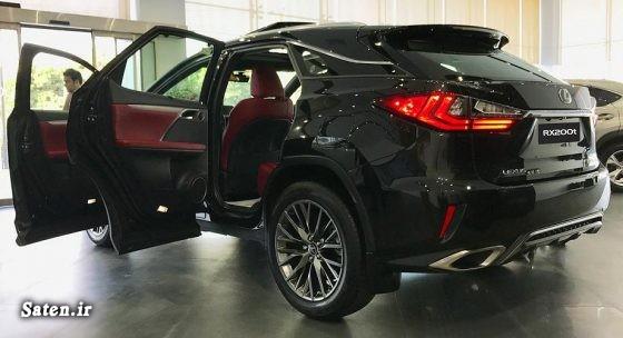نمایندگی مجاز تویوتا معرفی خودرو مشخصات لکسوس rx200t قیمت لکسوس rx200t قیمت لکسوس فروش اقساطی تویوتا ایرتویا Lexus RX200t